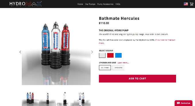 Bathmate Hercules Official Website