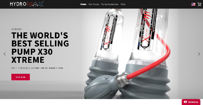 Official Hydromax Website